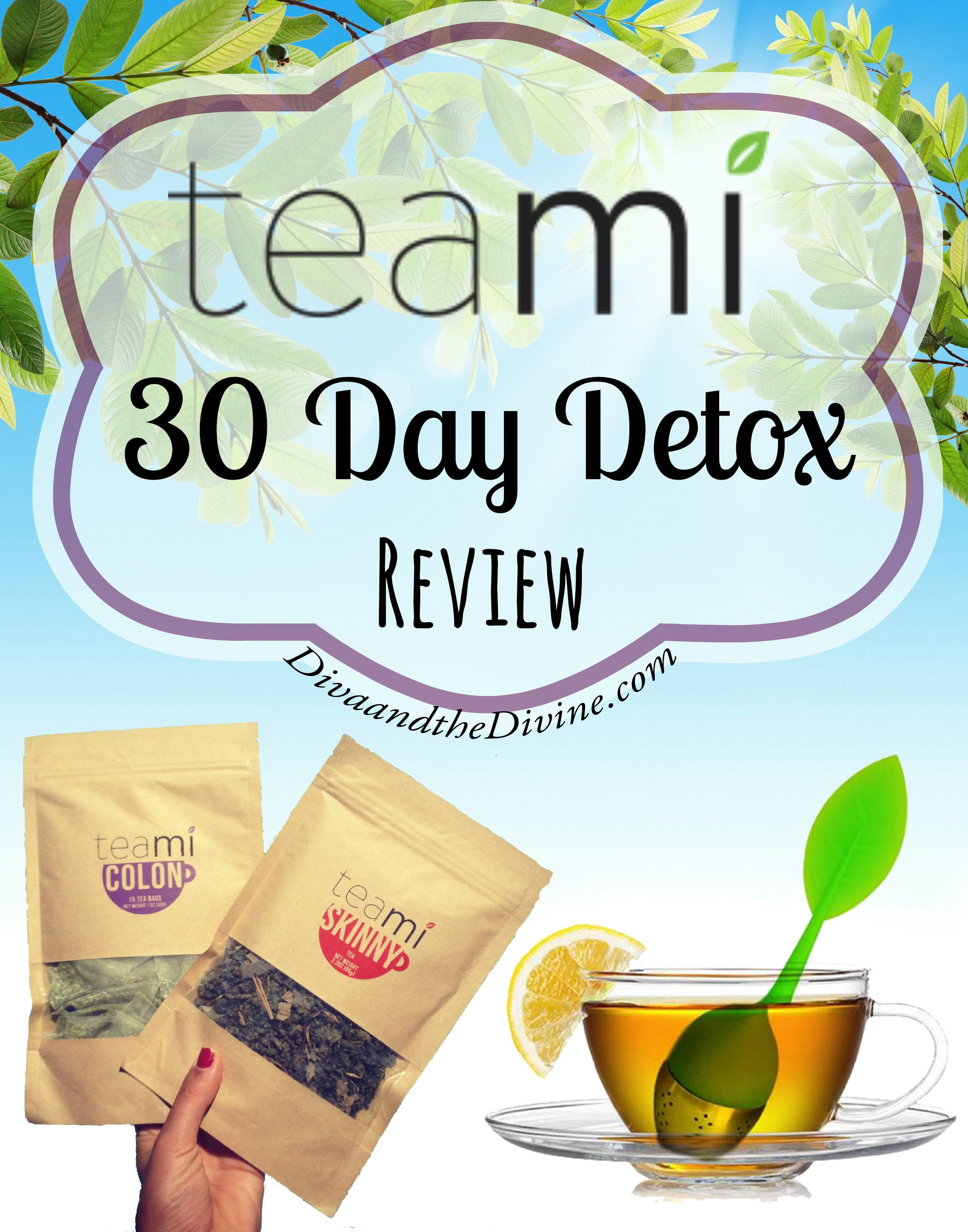 Teami Blends 30 day detox is a tea detox that leaves your body feeling great and running better. For a full review, read on...