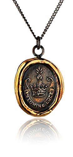 Pyrrha Bronze Inspiration Talisman Necklace Pyrrha http://www.amazon.com/dp/B00JVWINKC/ref=cm_sw_r_pi_dp_yjsFwb1V1GZBT