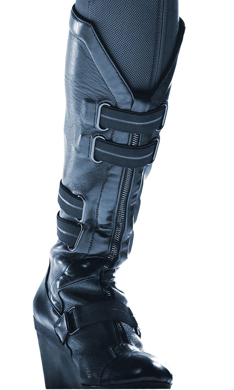 Boot details 1 black widow costume black widow cosplay
