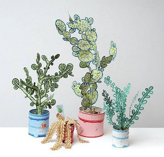 Photo of Spring Flowers for Prickly Black Thumbs: 7 Paper Plant & Cacti Projects