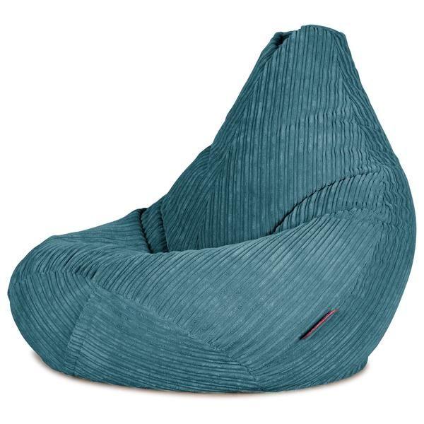 Big Bag Zitzak.Zitzak Gaming Stoel Corduroy Petrol In 2020 Bean Bag Chair