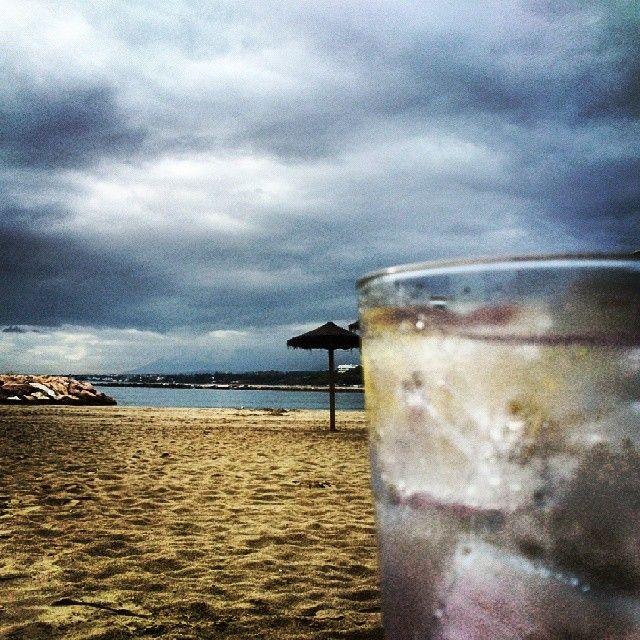 Gin, Marbella, Beach, BeachLife, Sky, love, Mediterranean, holidays.