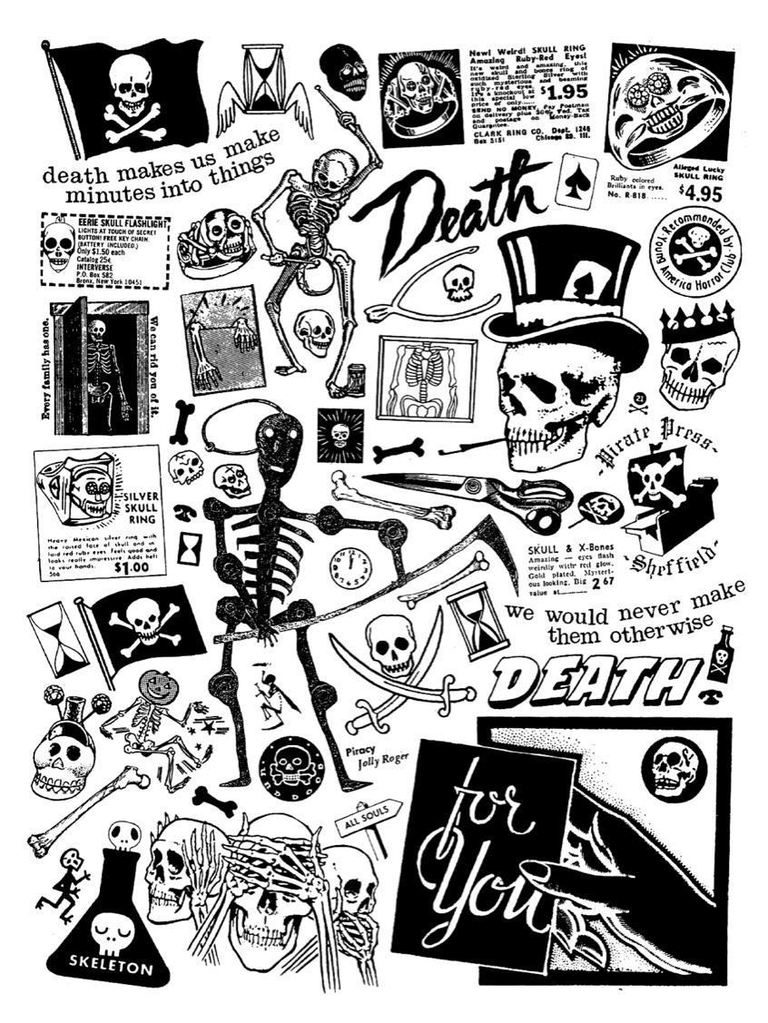 eb5dff6cade92 W E L L ※ F E D Death Flash, Skull Art, Traditional Tattoo, Tatoo, Flash  Design