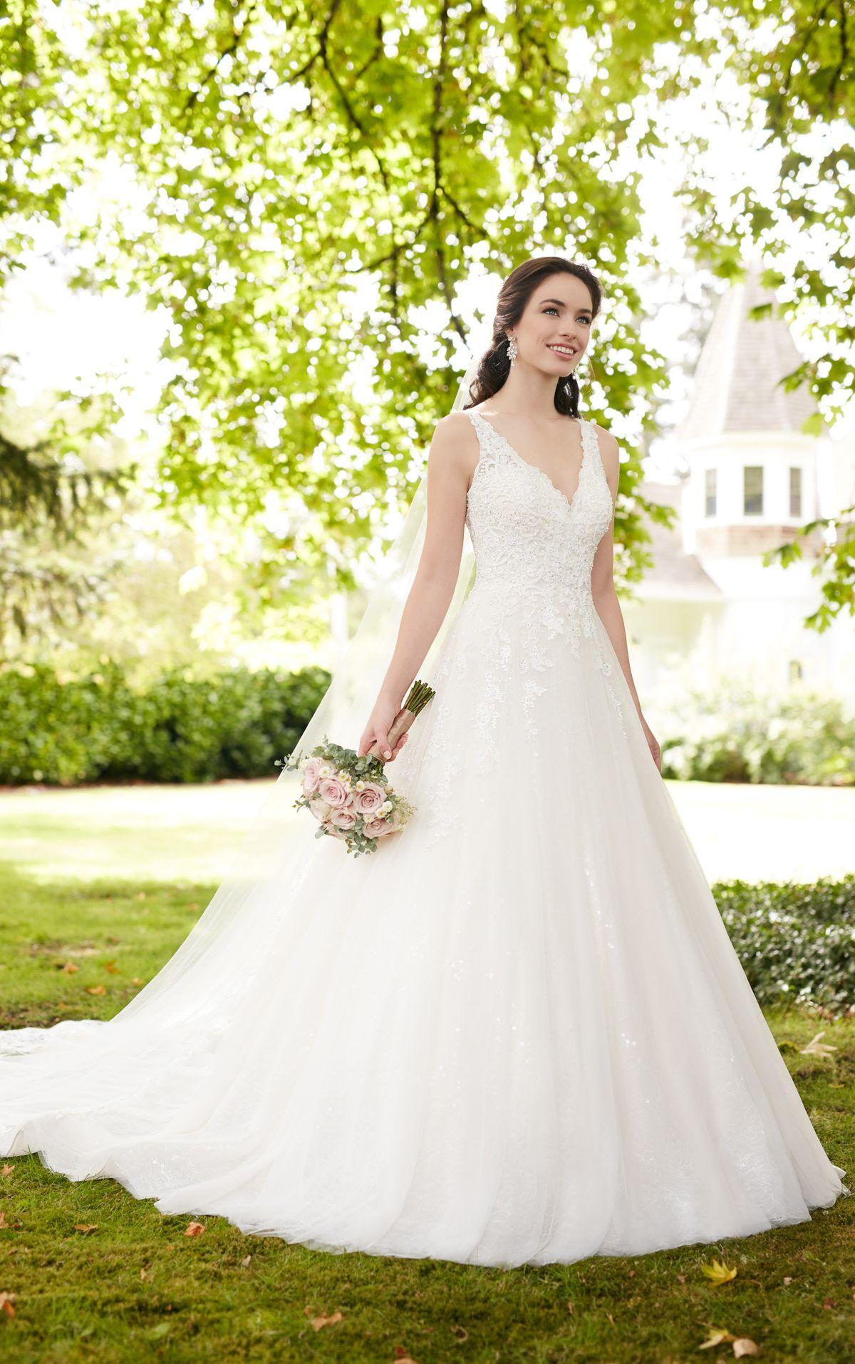 Beaded ball gown wedding dress  Wedding Dresses  Ball gowns Wedding dress and Gowns