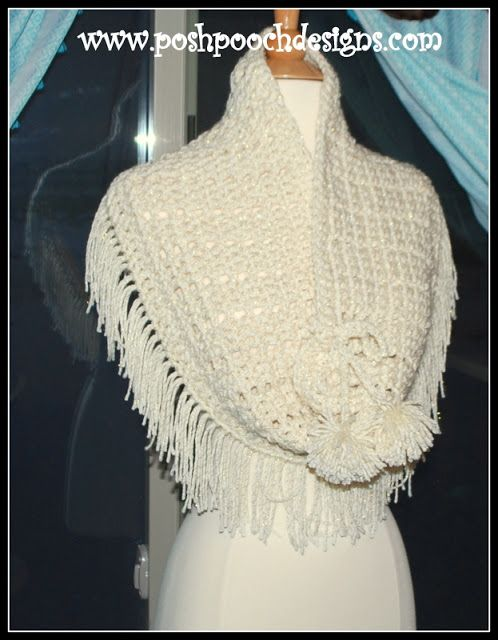Snow Bound Cowl Crochet Pattern