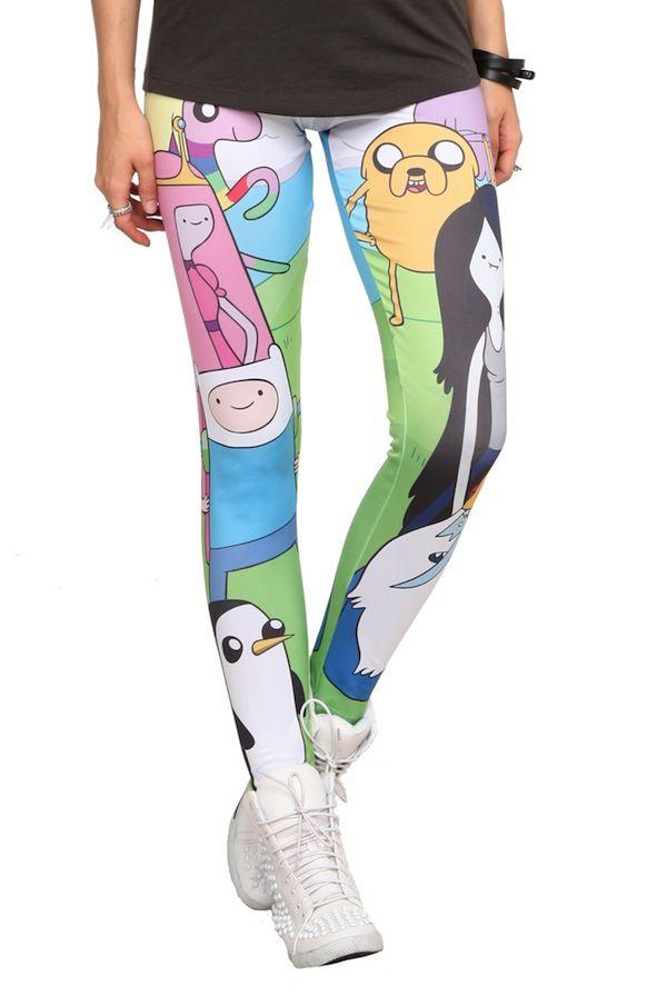"93bf4afff Adventure Time"" Leggings | Geek Fashion & Gear | Adventure time ..."