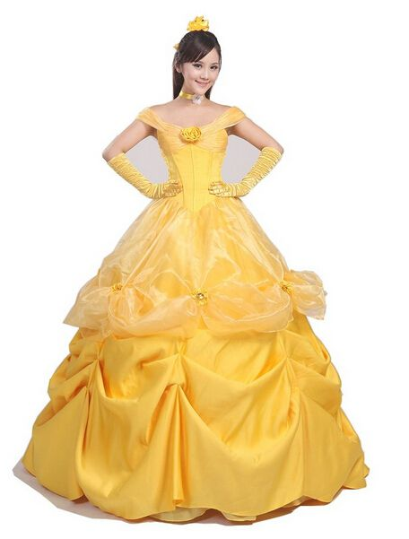 Princess belle costume adult princess belle costume beauty and the beast costume cosplay halloween costumes for  sc 1 st  Pinterest & Princess belle costume adult princess belle costume beauty and the ...