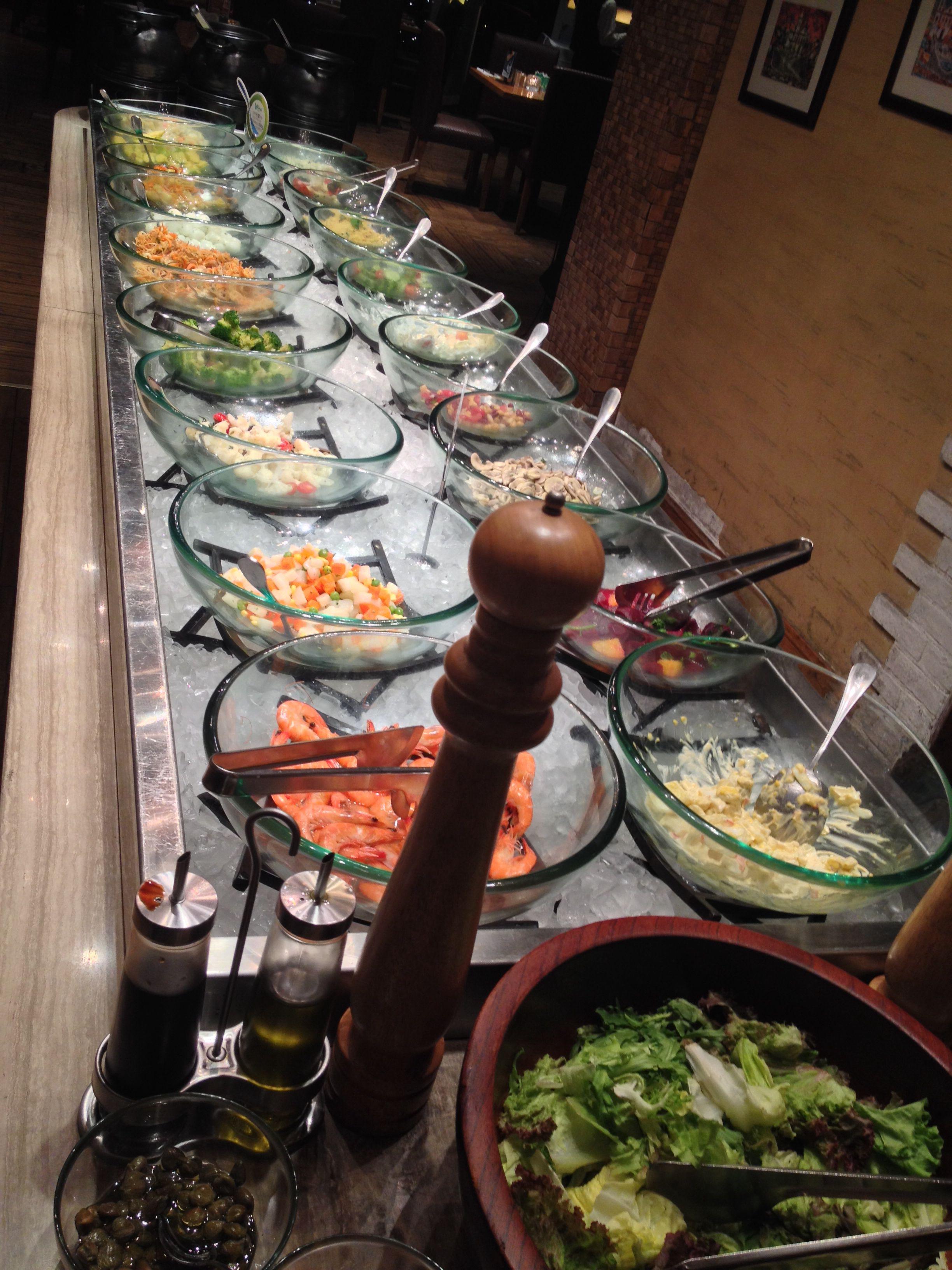 Brazilian Bbq Buffet At Latina Brazilian Restaurant Shanghai China