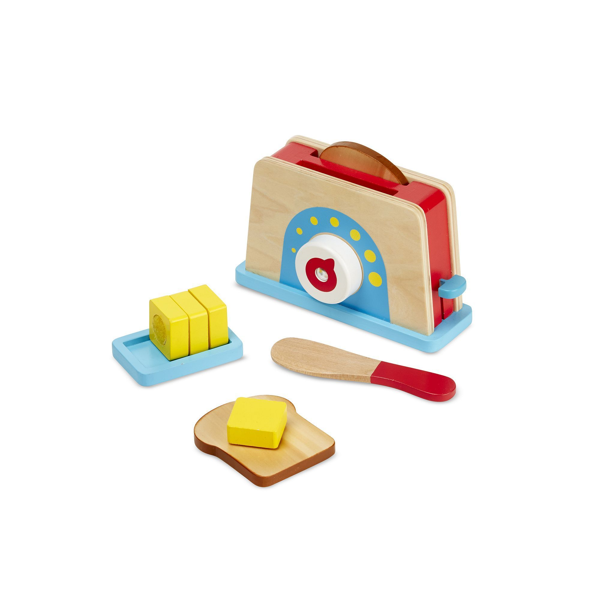 Melissa & Doug Bread & Butter Toast Set, Multicolor | Products