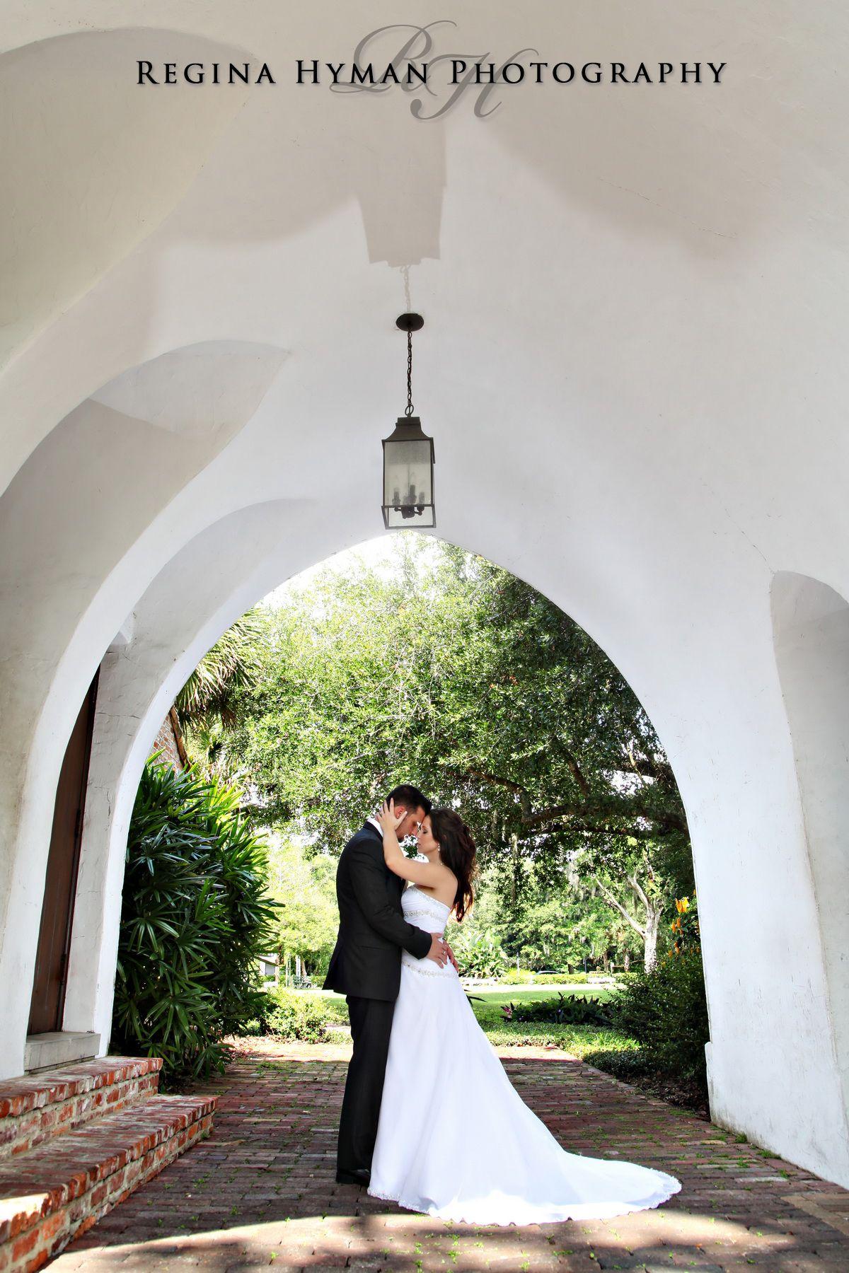 Bridal Portrait At Casa Feliz Winter Park Orlando Wedding Photographer Regina Hyman Photography