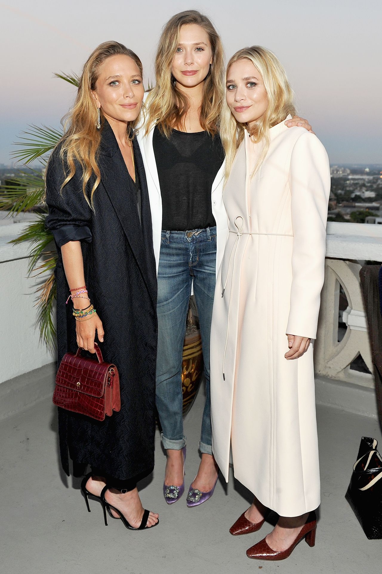 Inside Instyle S Elizabeth And James Los Angeles Flagship Store Opening Party Ashley Olsen Style Mary Kate Olsen Olsen Twins Style