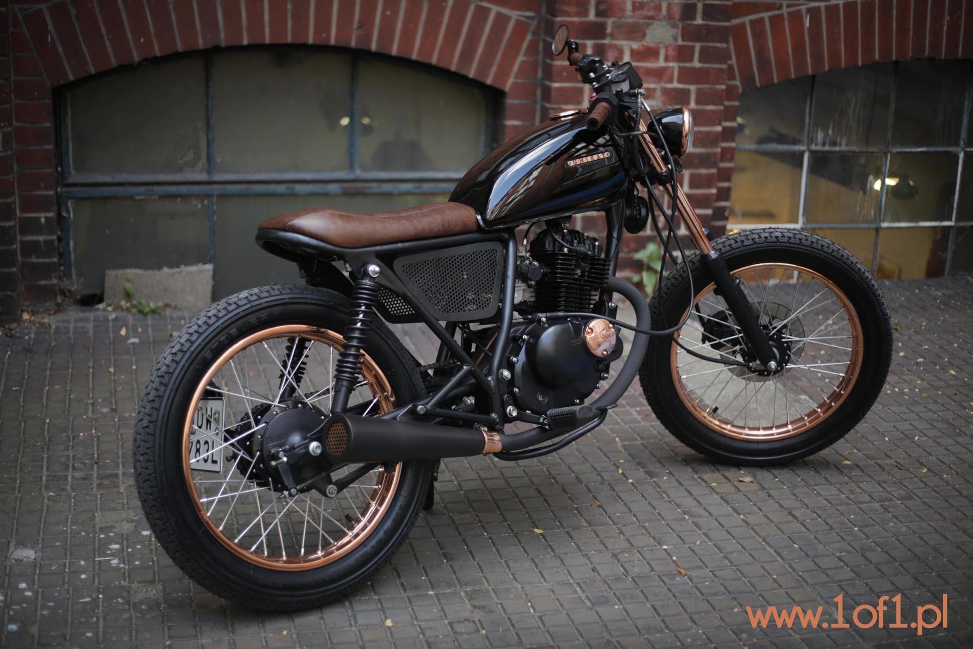 unikat suzuki gn 125 custom motorcycles pinterest. Black Bedroom Furniture Sets. Home Design Ideas