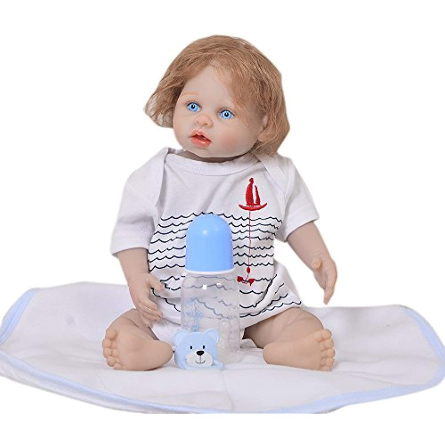 Npk Doll De Silicone Reborn Toddle 20 Inch Real Handmade Realistic Baby Doll Boys Real Touch Bebe Reborn Babies Playmate Toys Dolls & Stuffed Toys