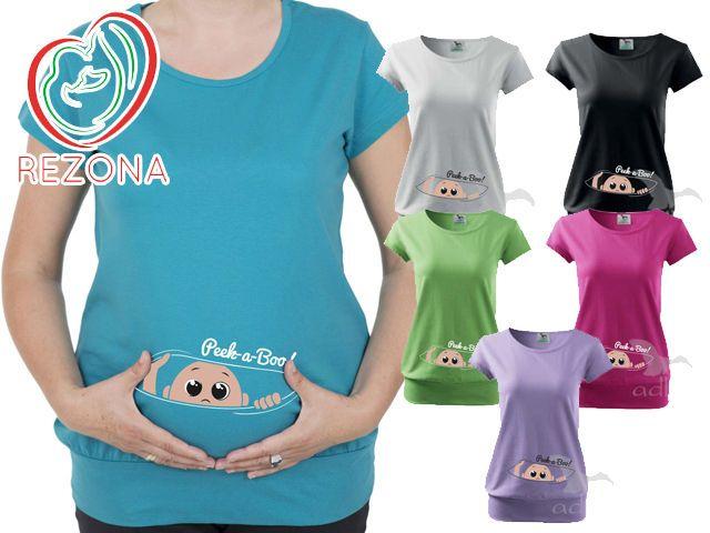 e1df8c9e47737 Maternity Tshirt Clothes Maternity T Shirt Funny Baby Shower Gift Peek A  Boo | eBay