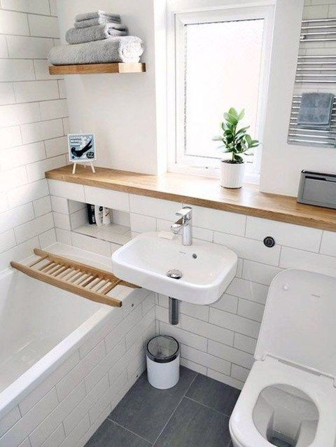 44 Awesome Small Bathroom Design Ideas in 2020 Moderne
