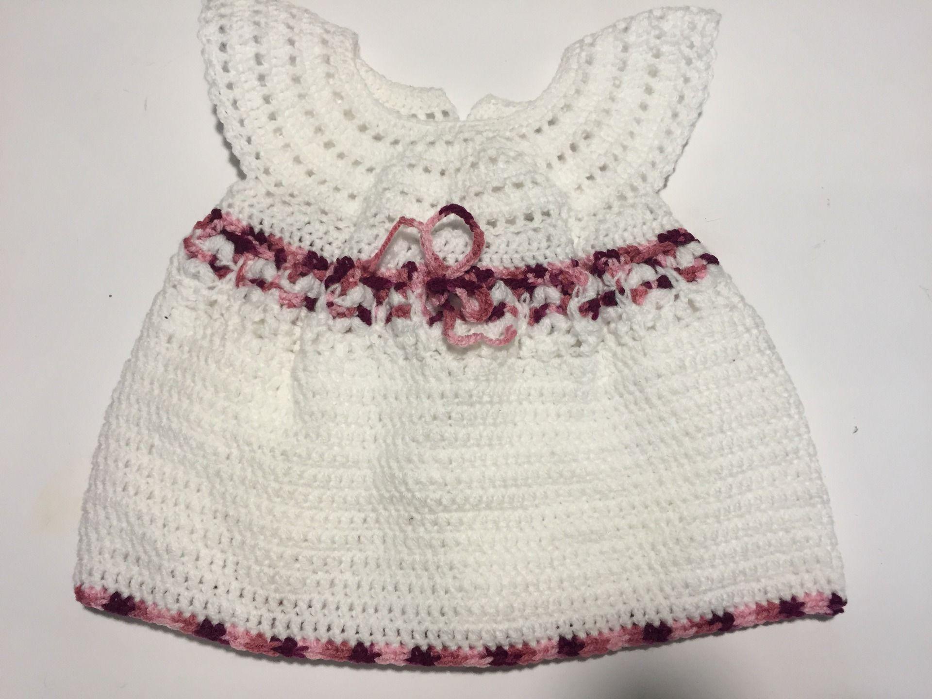 Robe faite main pour fillette 6 mois : Mode Bébé par val-la ...