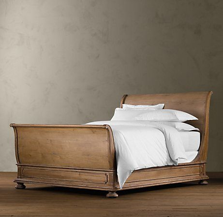 St James Sleigh Bed With Footboard Bedroom Sleigh