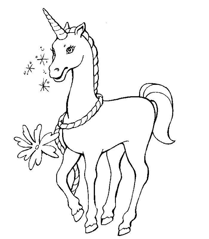 Malvorlage Einhorn Ausmalbilder Ausmalbilder Pferde
