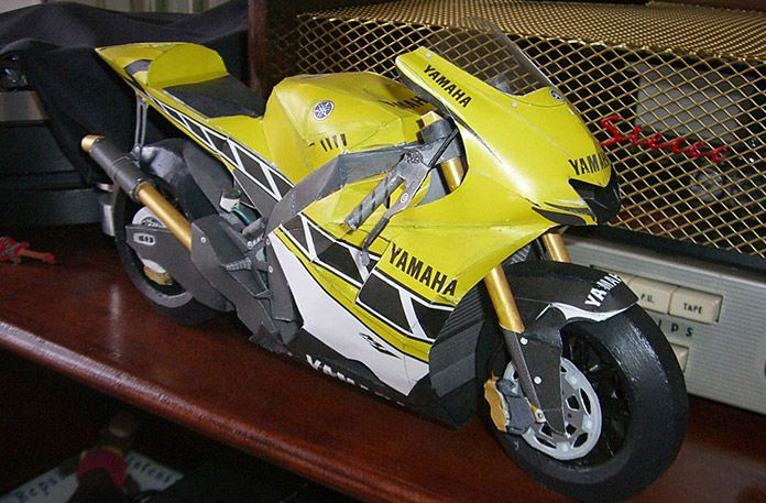 Precise paper craft Vol.8 Race machine - limited color model for U.S.GP in 2005