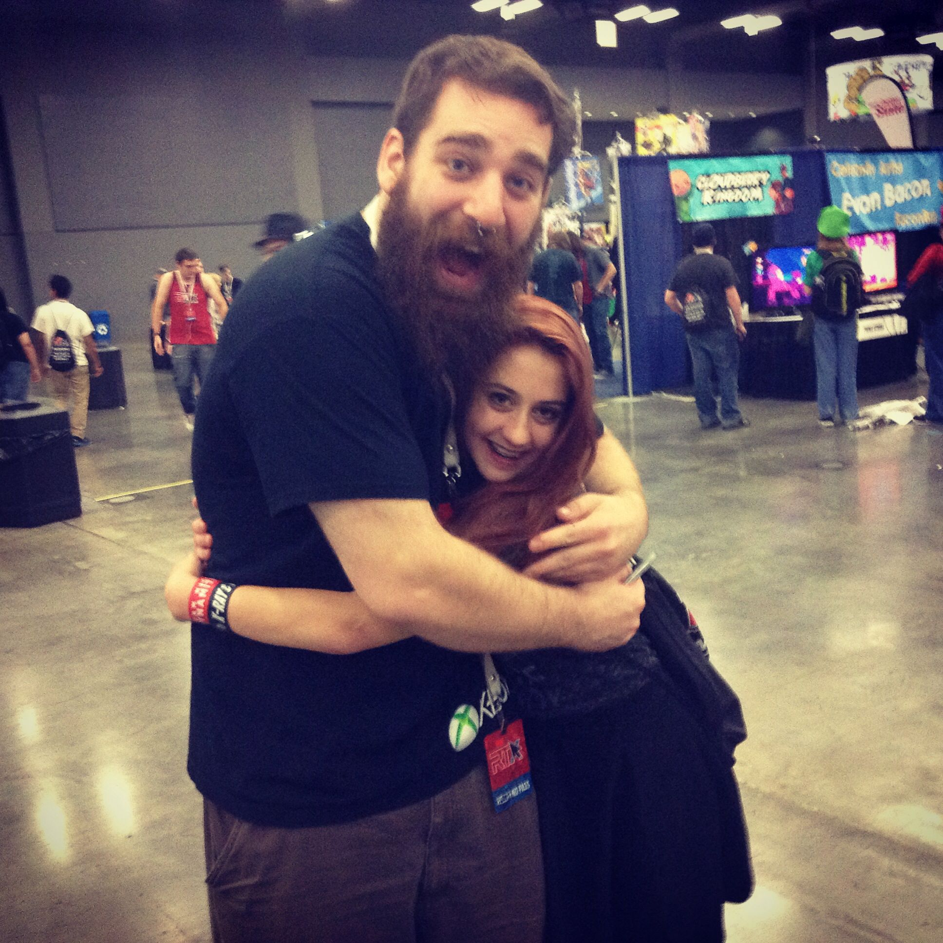 adam ellis from rooster teeth at rtx2014 rooster teeth