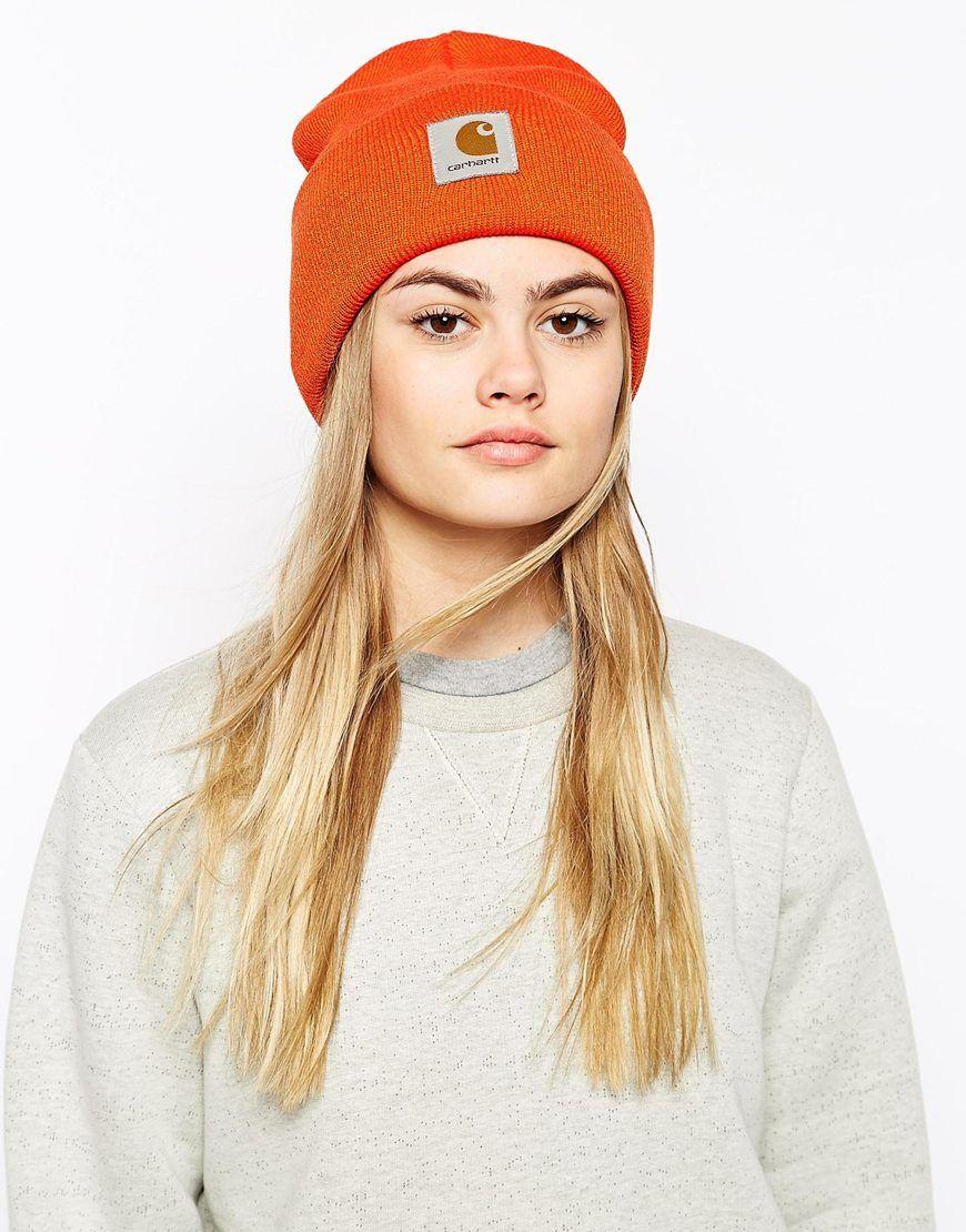 6f368cbe0d6 Carhartt Watch Hat in Orange