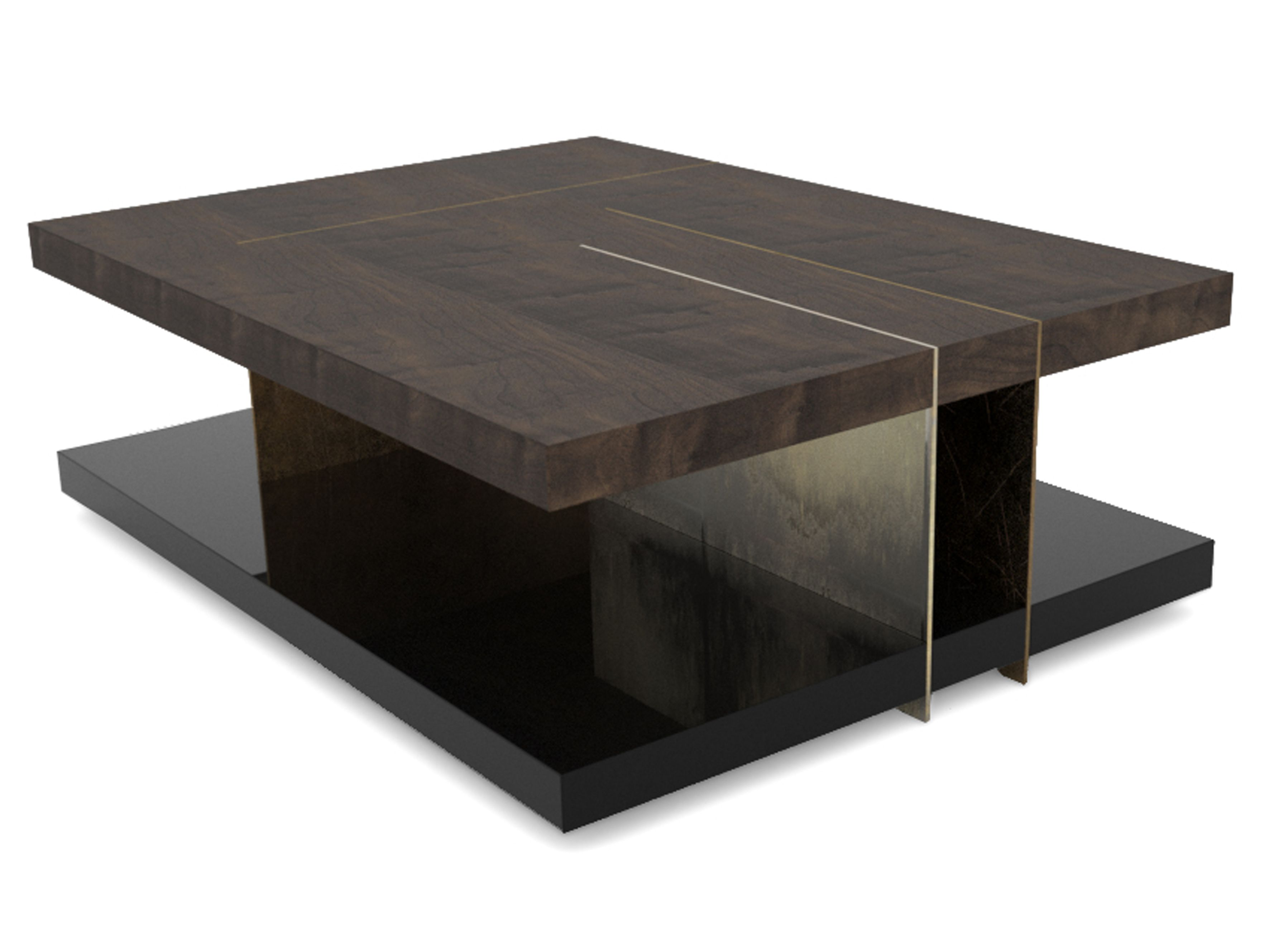 Low Wooden Coffee Table Lallan By Brabbu Coffee Table Wooden Coffee Table Rectangular Coffee Table [ 2657 x 3542 Pixel ]