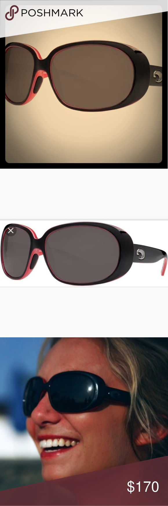 fe071bacbd63 Costa Sunglasses discontinued style-like new Style: Hammock These strong  oval frames give a nod to classic