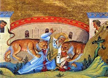 El martirio de Ignacio por los leones en el Coliseo | Persecución Cristiana…