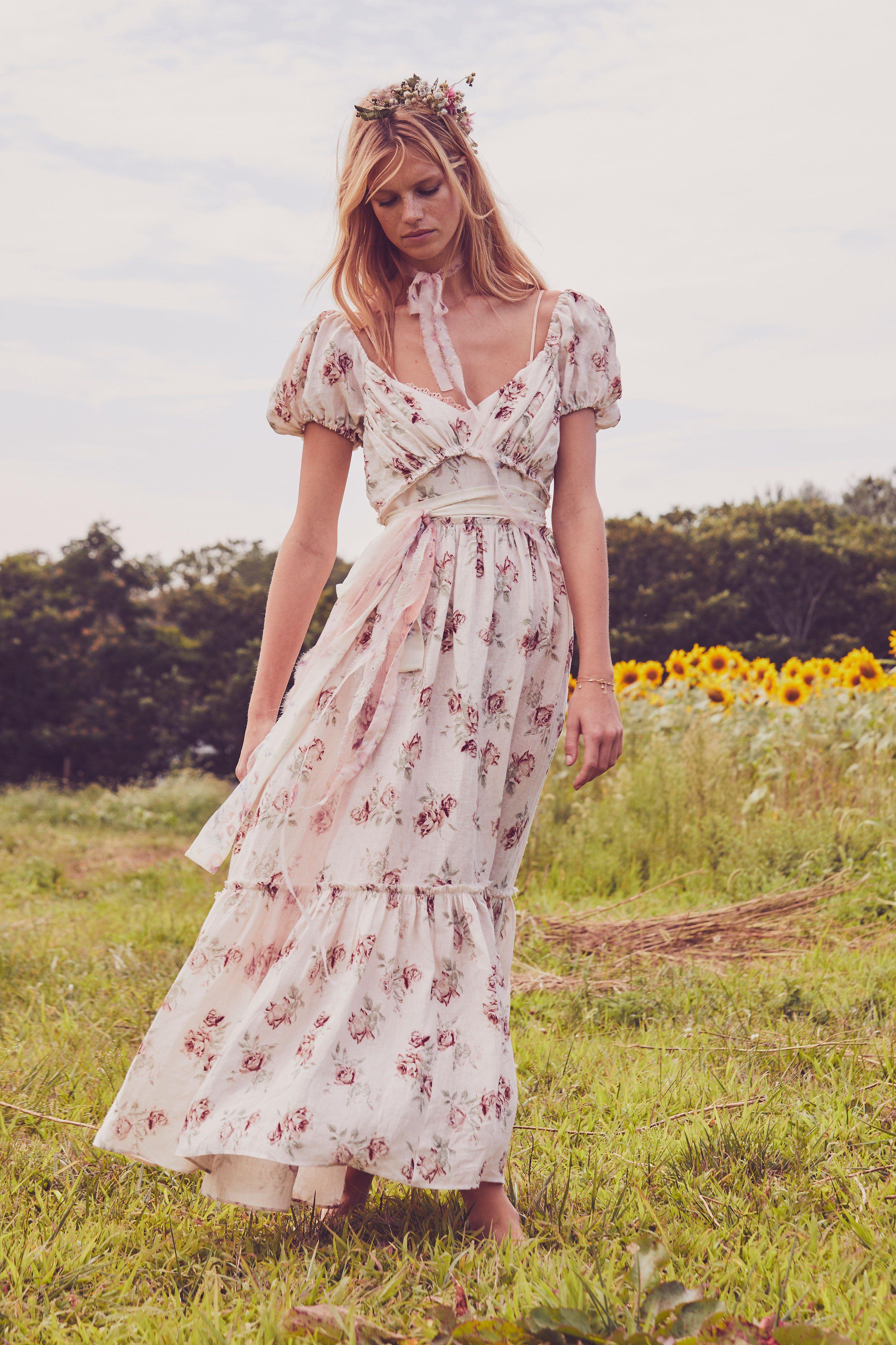 Angie Dress Trendy dresses summer, Dresses, Romantic dress