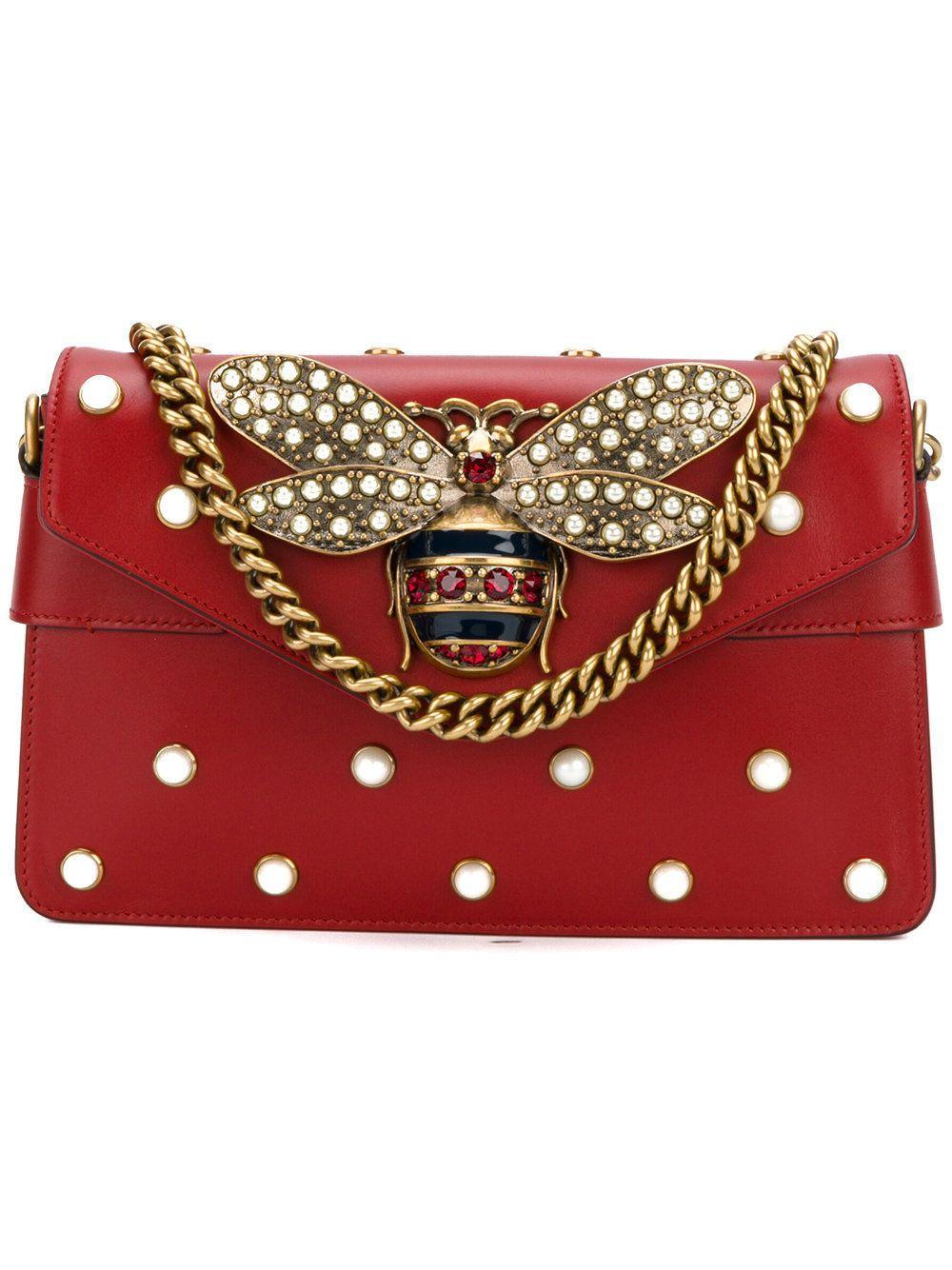 29b42f61ec8 Gucci Broadway shoulder bag · Gucci BagsBroadwayStriped BodiesShoulder BagsShoulder  StrapHigh FashionMini BagsRed LeatherFall ...