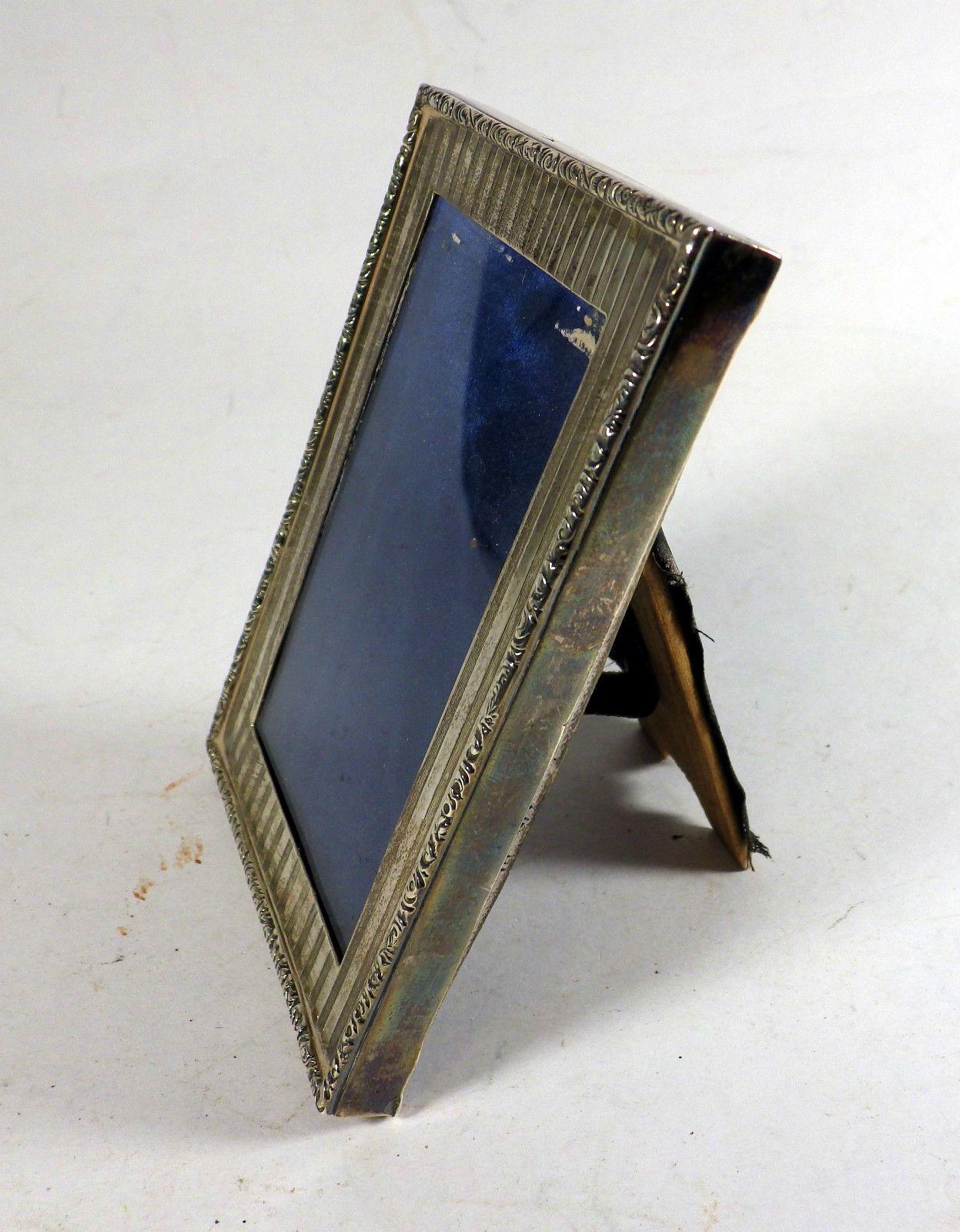 Antique Silver Hallmarked Picture Frame 1886   eBay
