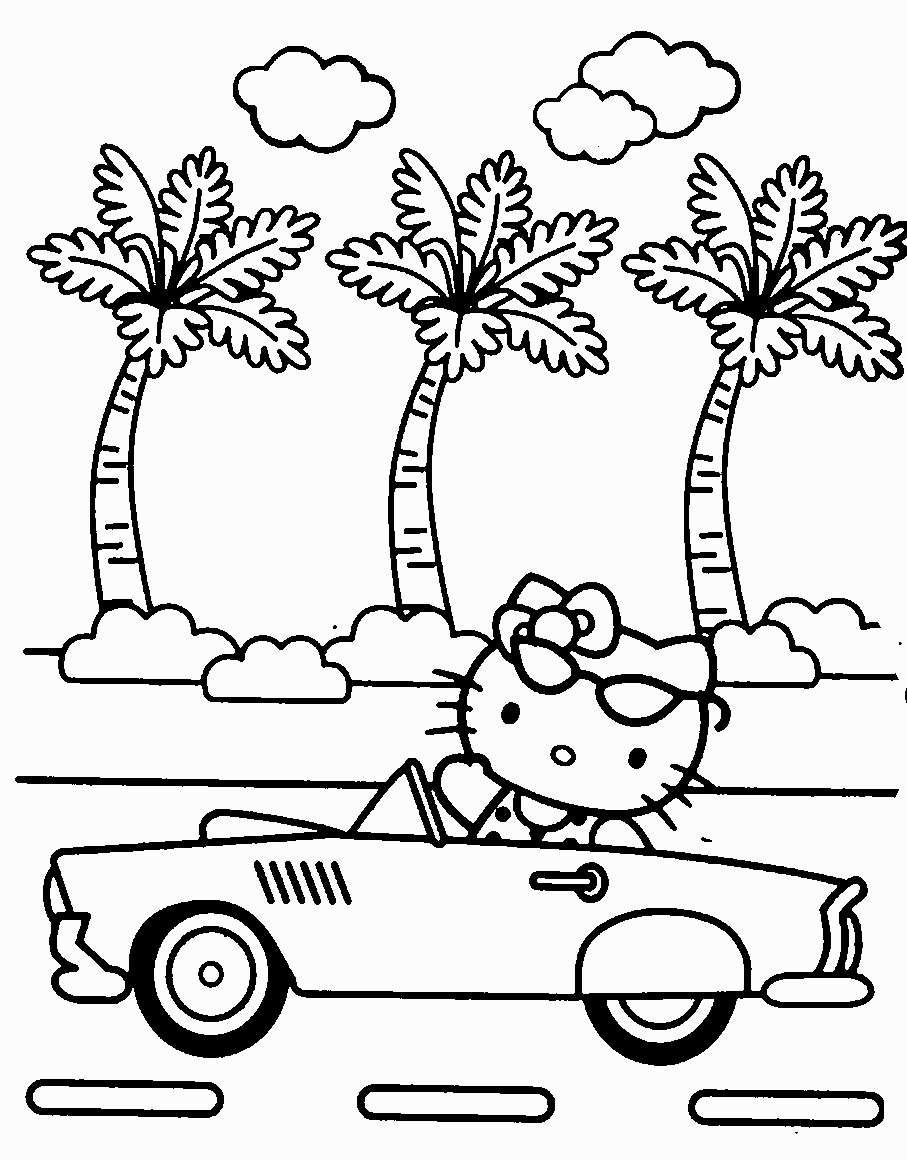 Trends For Hello Kitty Winter Coloring Pages