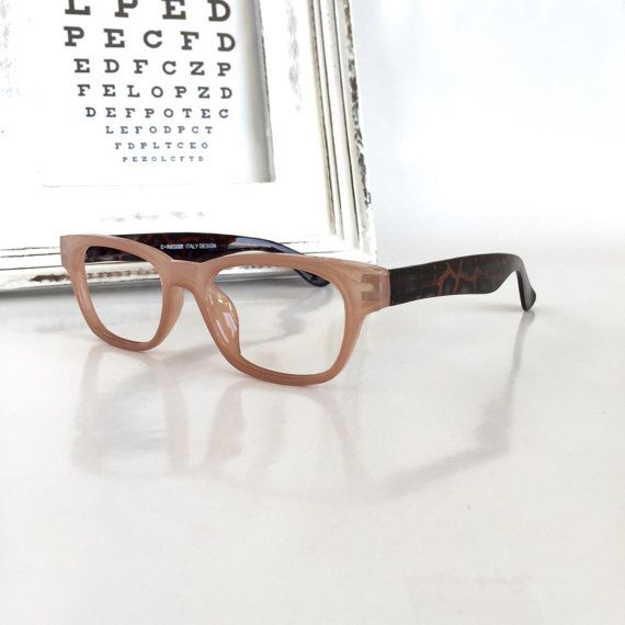 e15e4f2c5a2d Wayfarer Reading Glasses, Nude Eyeglasses Frame/ Brown Tortoise ...