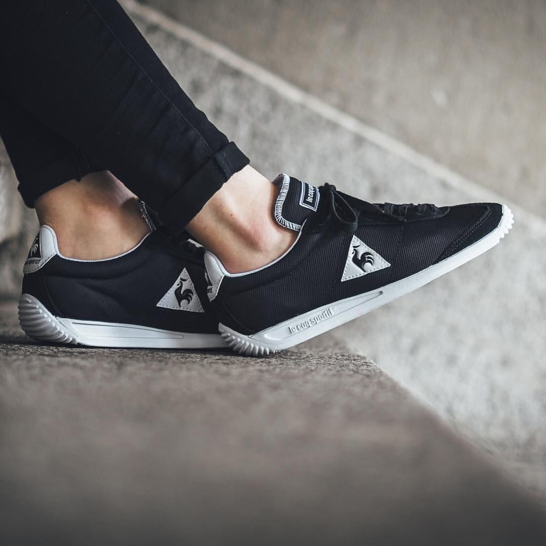 low priced a83fe 9dbf8 Le Coq Sportif Quartz Nylon  Black