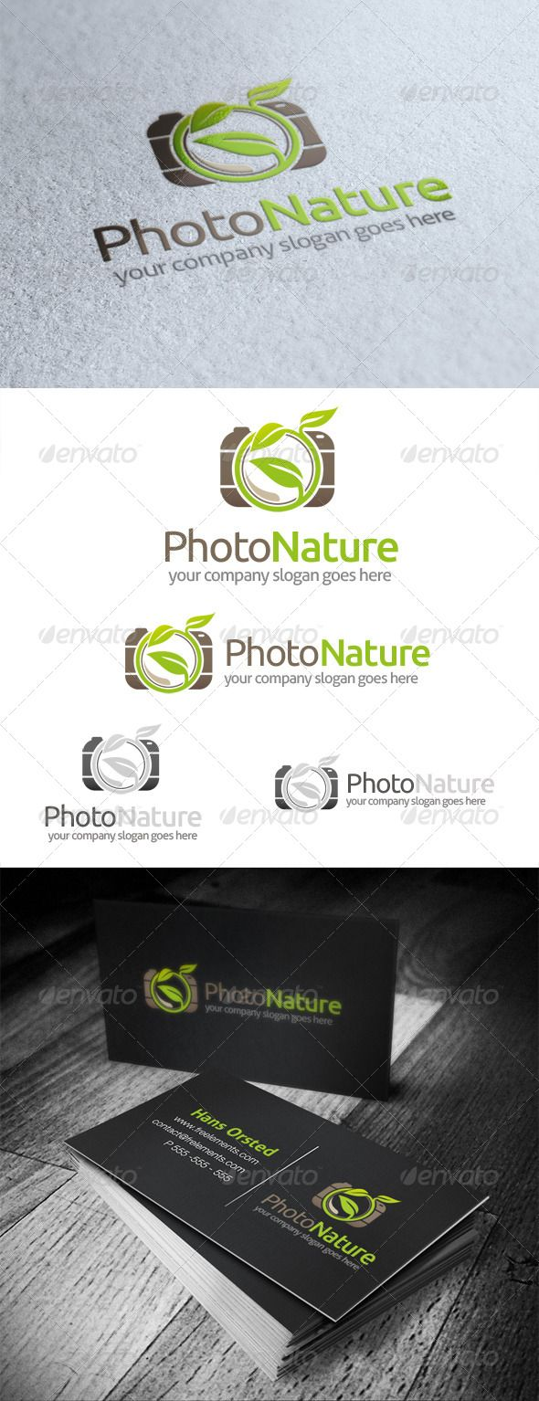 Photo Nature Logo (With images) Natural logo