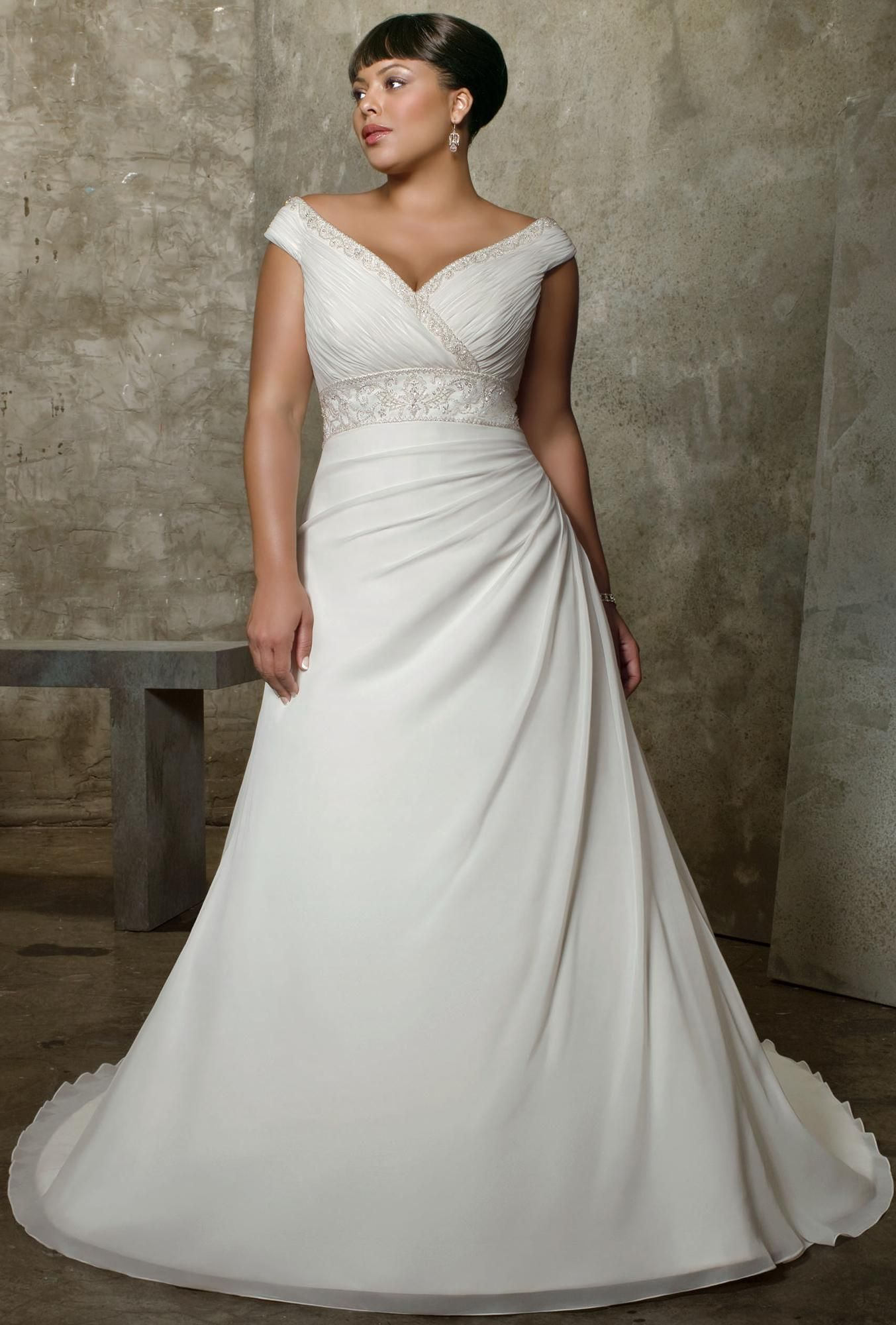 Pin By Brilliantblogger1 Com On Wedding Dress For Plus Seize Women Wedding Dress Big Bust Plus Size Wedding Gowns Wedding Dresses