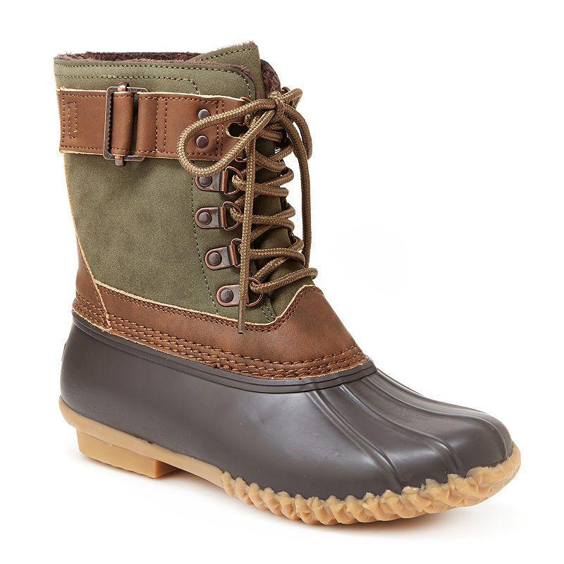 Jambu Womens Calgary Rain Boots Lace