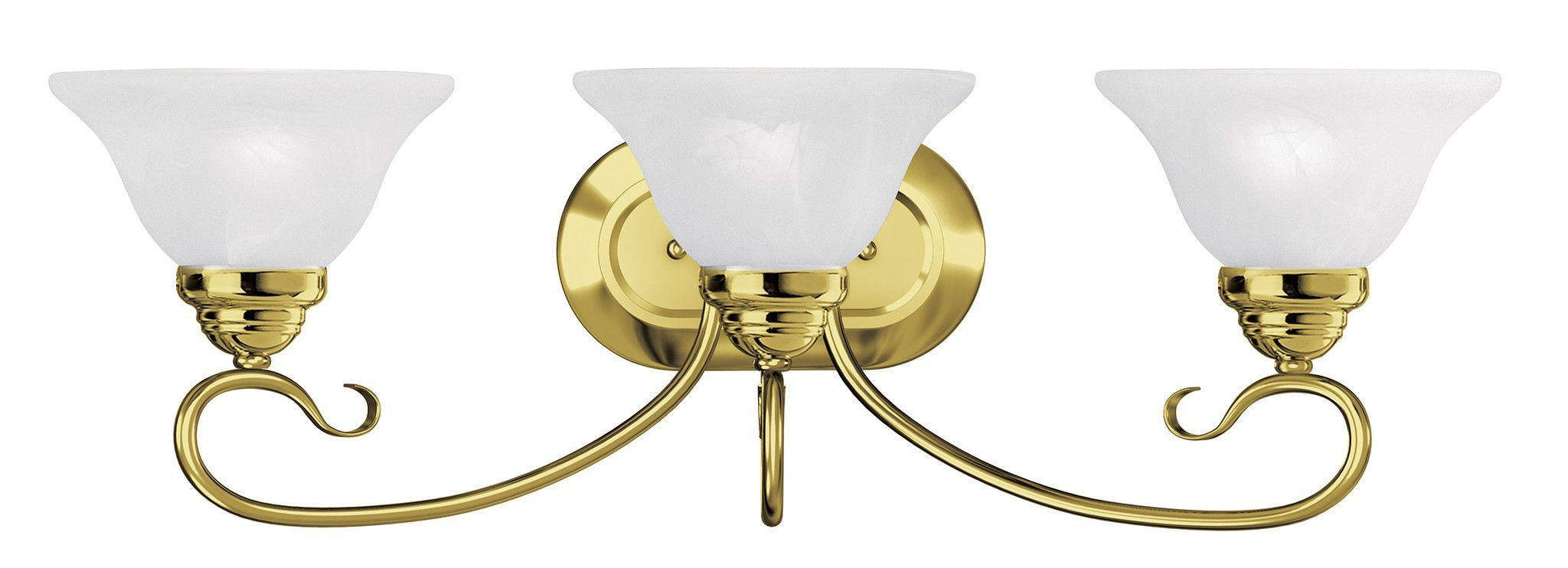 Livex Lighting Coronado Polished Brass Bath Light 6103 02