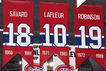 huge selection of 6492b 40e0f Montreal Canadiens Retired Jerseys | Montreal Canadiens ...