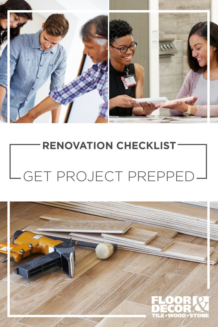Renovation Checklist  Get Project Prepped In 2020