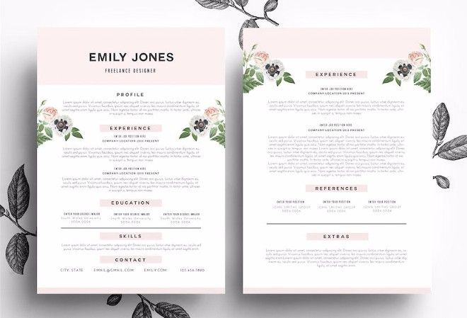 25  professional resume templates  u2013 psd word indesign doc