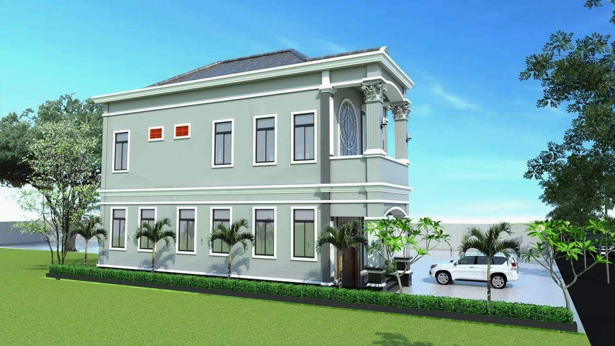 Modern Khmer House House Styles House Modern
