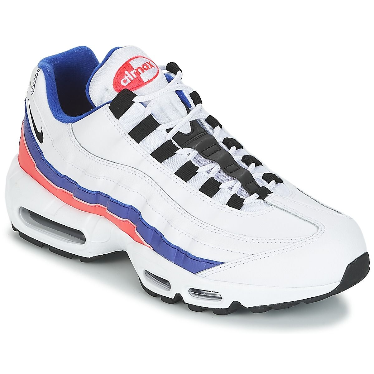 cheaper ac5bb 99713 Nike AIR MAX 95 ESSENTIAL Blanc   Bleu   Rose