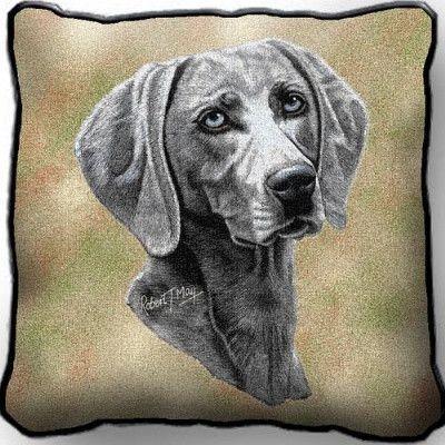 Weimaraner Pillow (Pillow)