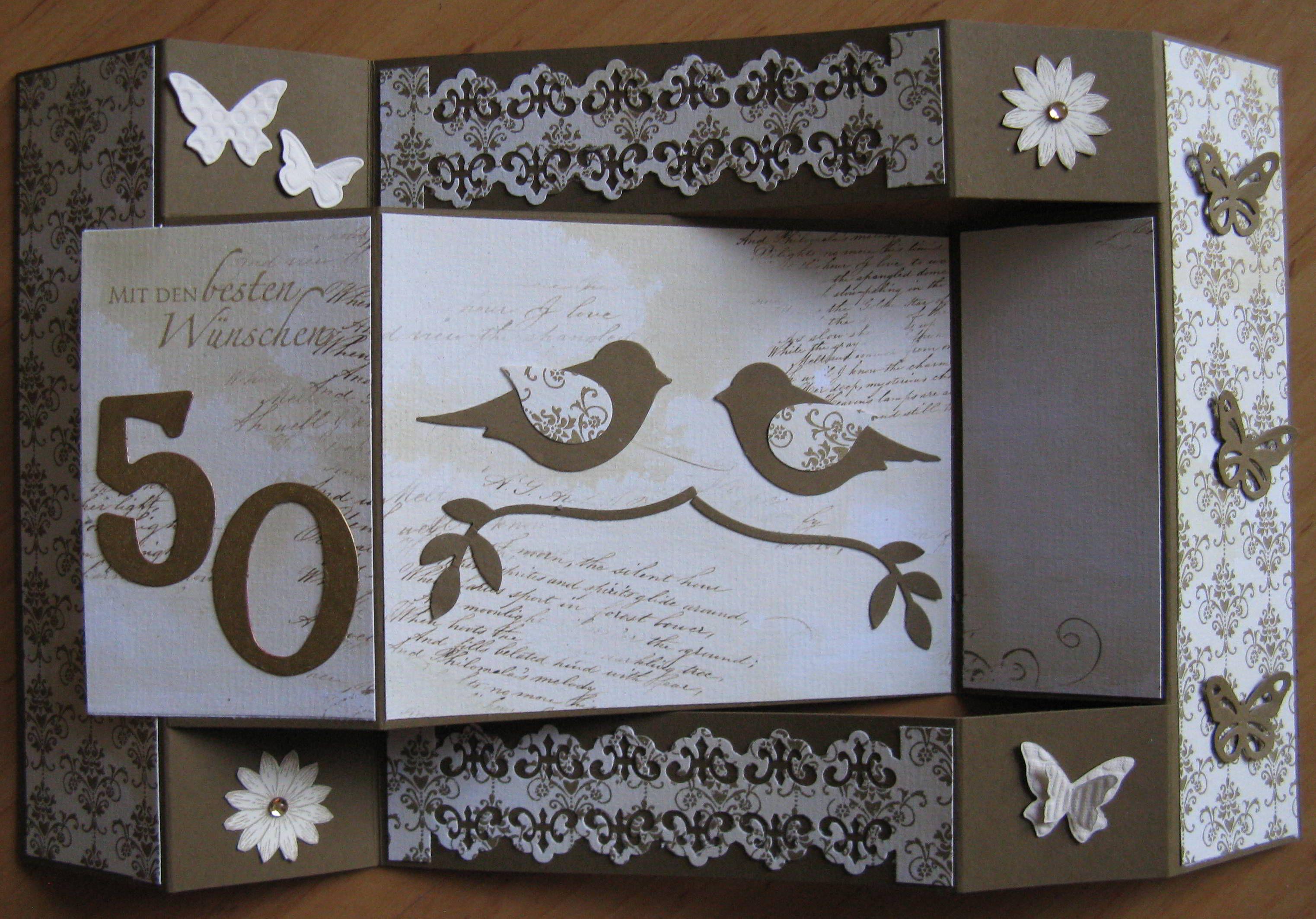 Goldene hochzeit, Hochzeit, Karten
