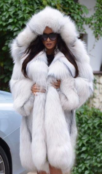 Fox Fantastic Furs Royal Exclusive Coat Saga Fur nmN80w