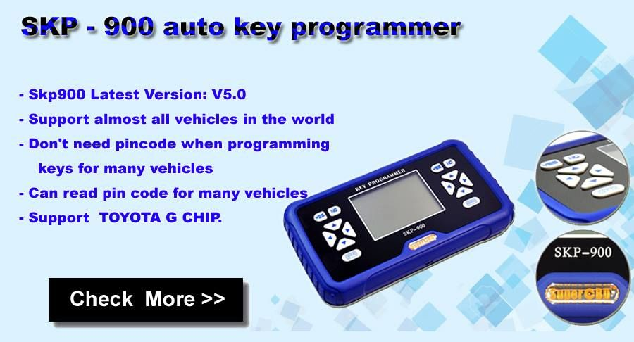 V5.0 SuperOBD SKP900 Auto Key Programmer Update Online