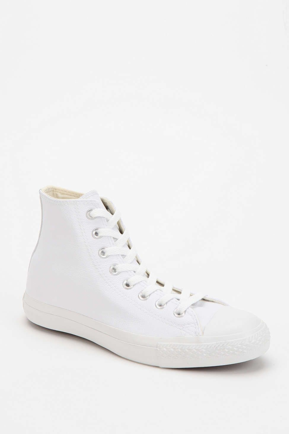 7d8248c4c770 Converse Chuck Taylor All Star Leather High-Top Women s Sneaker ...