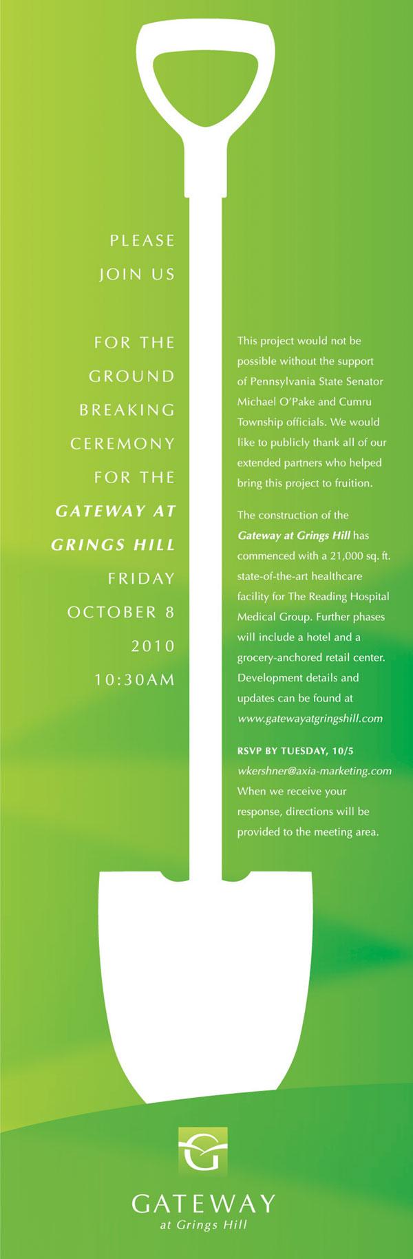 Groundbreaking Ceremony Invitation Sample | Hi ho hi ho it's off ...