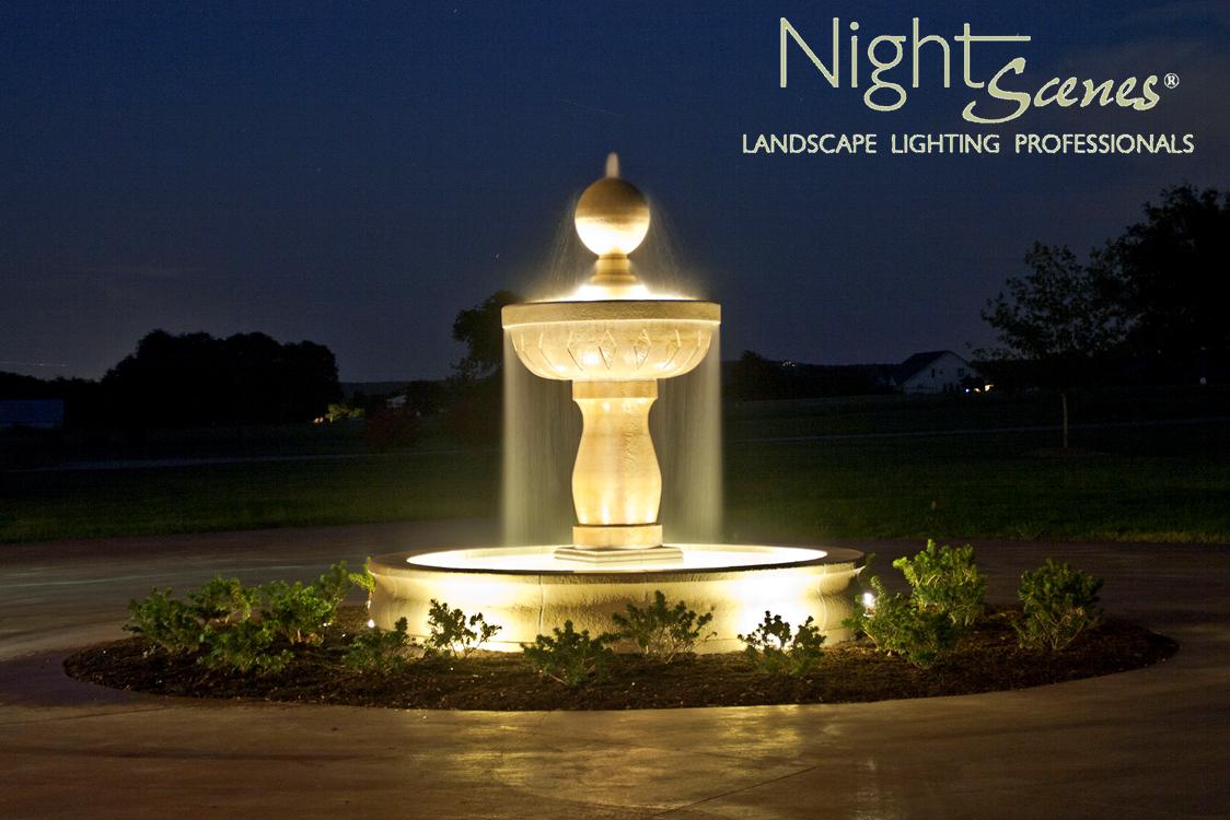 Aolp Award Winning Water Feature Lighting Led Outdoor Landscape By Www Night Scenes